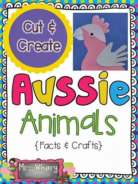 Cut & Create Australian Animals (from Musings of Me)