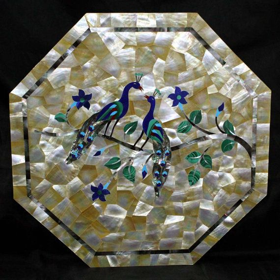 Paloma Mosaic Coffee Table: 206 Best Pietra Dura Images On Pinterest