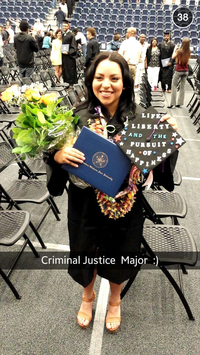 I just graduated from college with a degree in Criminal ...