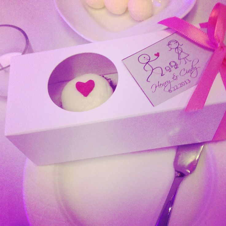 We love our clients- because we all love cupcakes! Congrats to this couple!