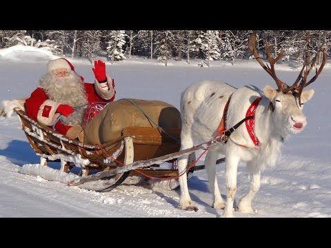 Papai Noel / Pai Natal & Segredos das renas - Lapônia na Finlândia - Círculo Ártico em Rovaniemi - YouTube