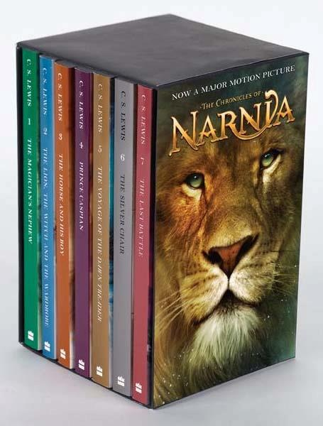 The Chronicles of Narnia is a series of seven high fantasy novels by author C.S. Lewis. It is considered a classic of children's literature and is the author's best-known work, having sold over 100 million copies in 47 languages. Written by Lewis between 1949 1954, illustrated by Pauline Baynes and originally published in London between October 1950 March 1956, The Chronicles of Narnia has been adapted several times for radio, television, the stage, and film. #book #boxset: