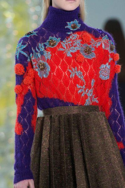 Delpozo at New York Fashion Week Fall 2016 - Details Runway Photos