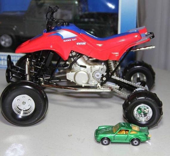 Honda 250r Quad Atv diecast toy model Big Size 16 scale 4x4
