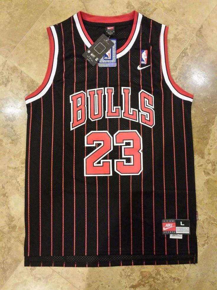 Nike #Chicago Bulls Michael Jordan Throwback #NBA Jersey Men's Large Retro Rare 23 from $39.99