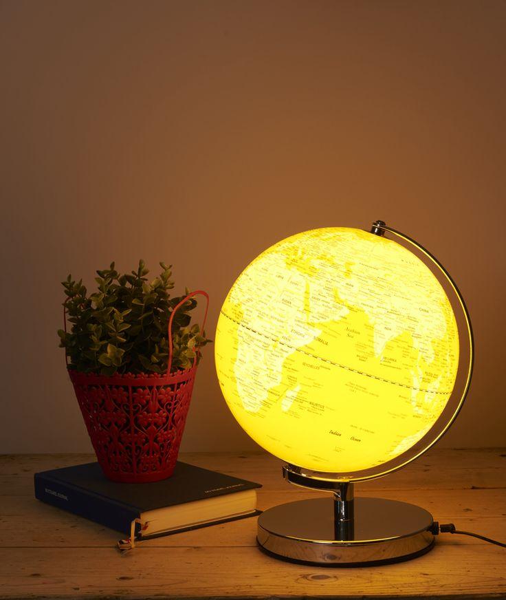 Wild and wolf globe light english mustard 5055923705346 v2