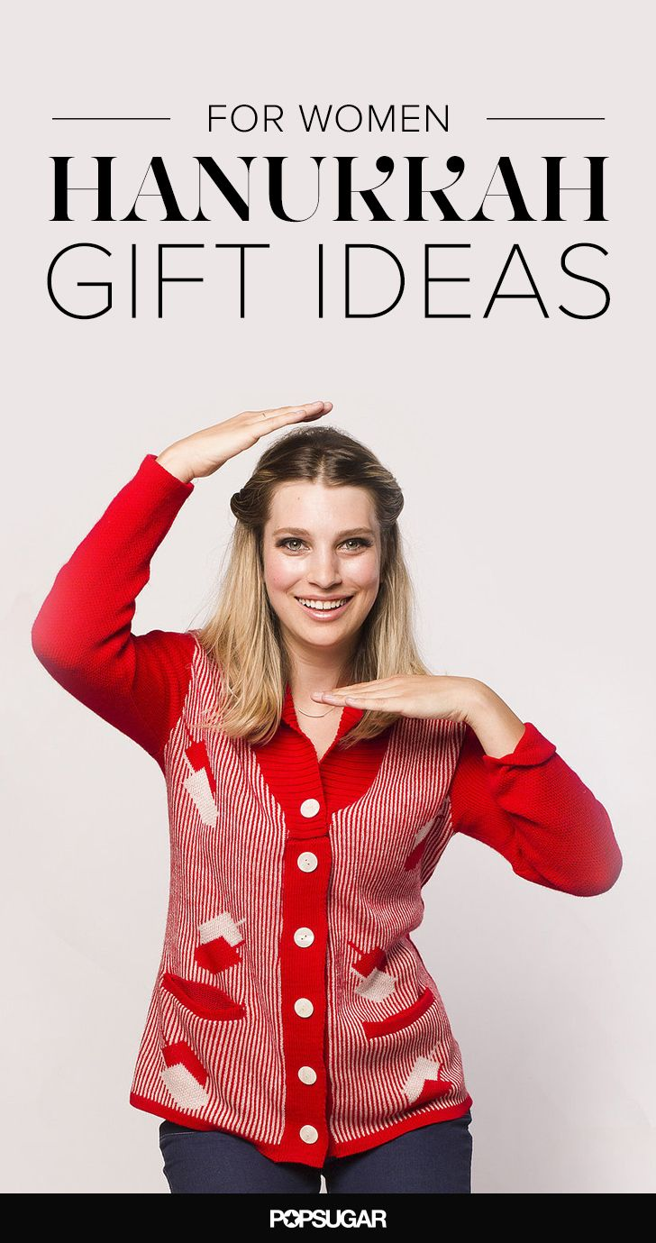 Hanukkah gift ideas for her.
