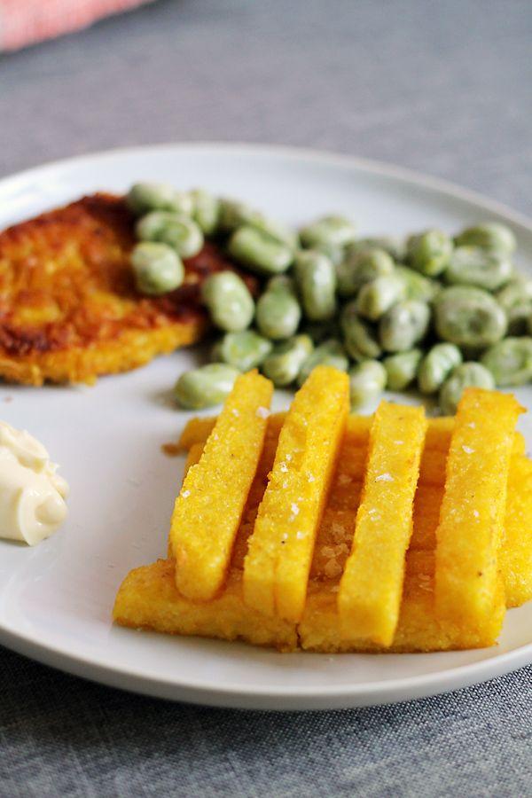 Culy Homemade polenta friet0015  Een ideetje voor een druilerige woensdagnamiddag als deze?