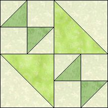Block of Day for November 22, 2016 - Bouncing Betty-strip piecing-The pattern may be downloaded until:Friday, December 2, 2016.