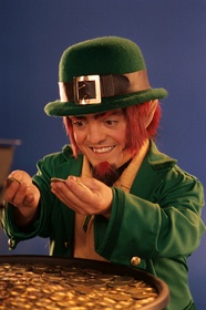 Leprechauns live only in Ireland, which is also known as The Emerald Isle.  It is said that Leprechauns are a type of male fairy and are a class of fairy folk that live near Fairy Rings, which are ancient Celtic earthworks or drulins.  The word Leprechaun is Gaelic for shoemaker, which makes sense because the occupation of a Leprechaun is a shoemaker to the fairies.