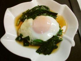 麺つゆで☆ニラ卵☆ 煮びたし風