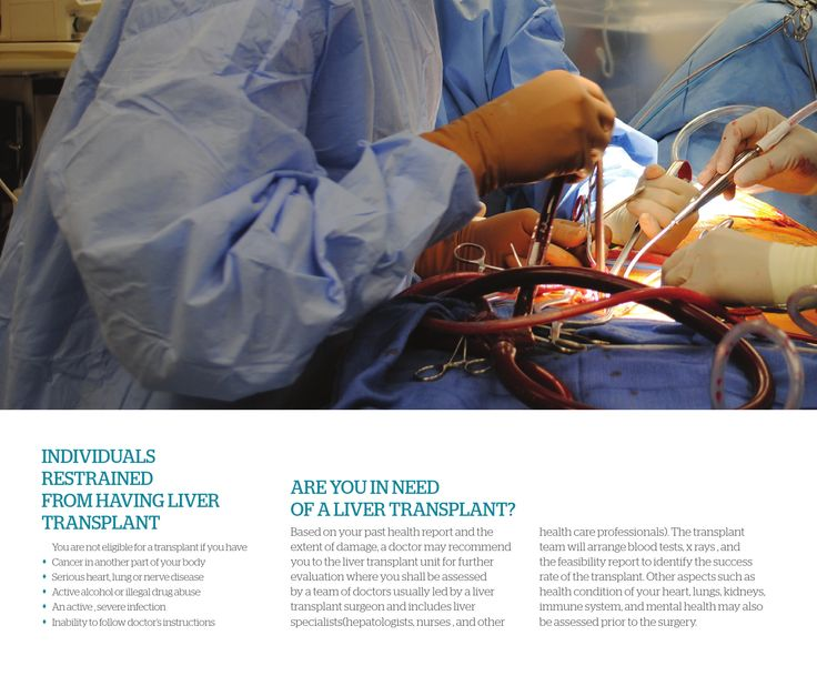 Know more about INDIVIDUALS RESTRAINED FROM HAVING LIVER TRANSPLANT and ARE YOU IN NEED OF A LIVER TRANSPLANT?