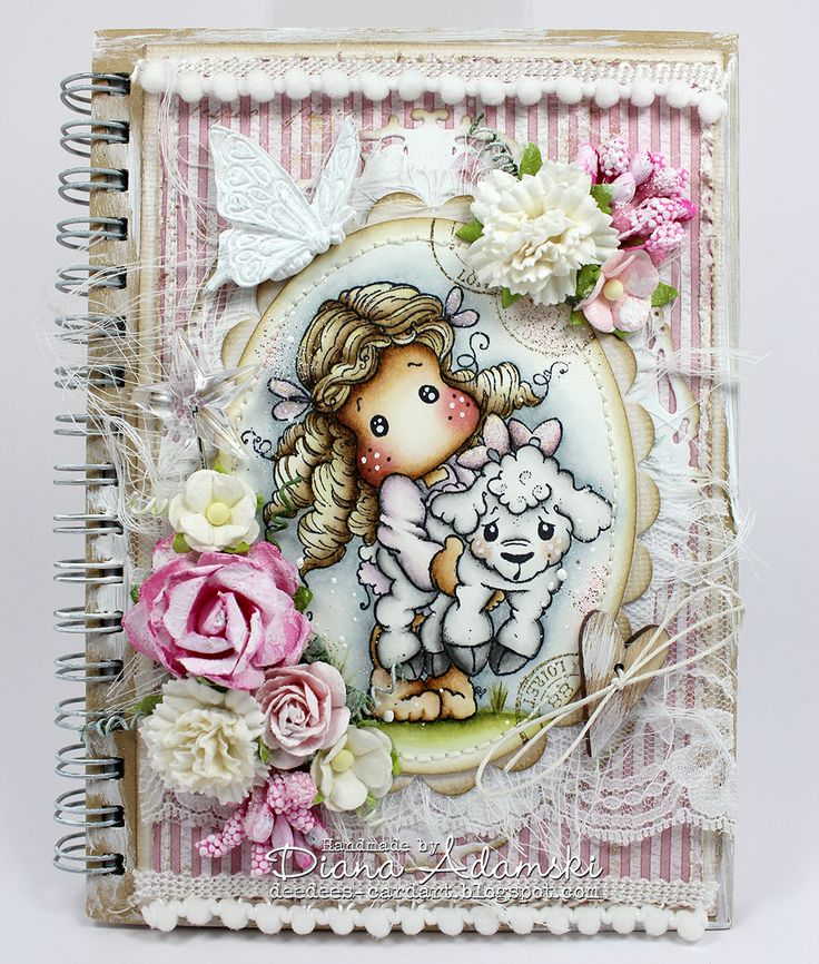 DeeDee's Magnolia Art: ♥ Tilda with Elsie the Lamm ♥