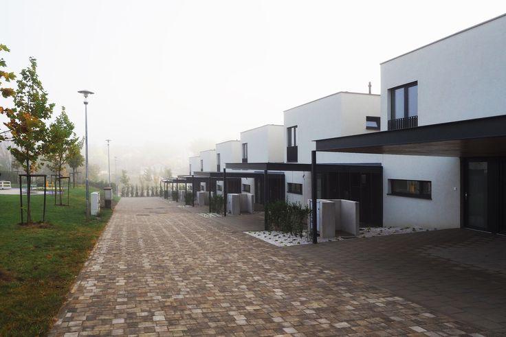 row houses with carports slovakia