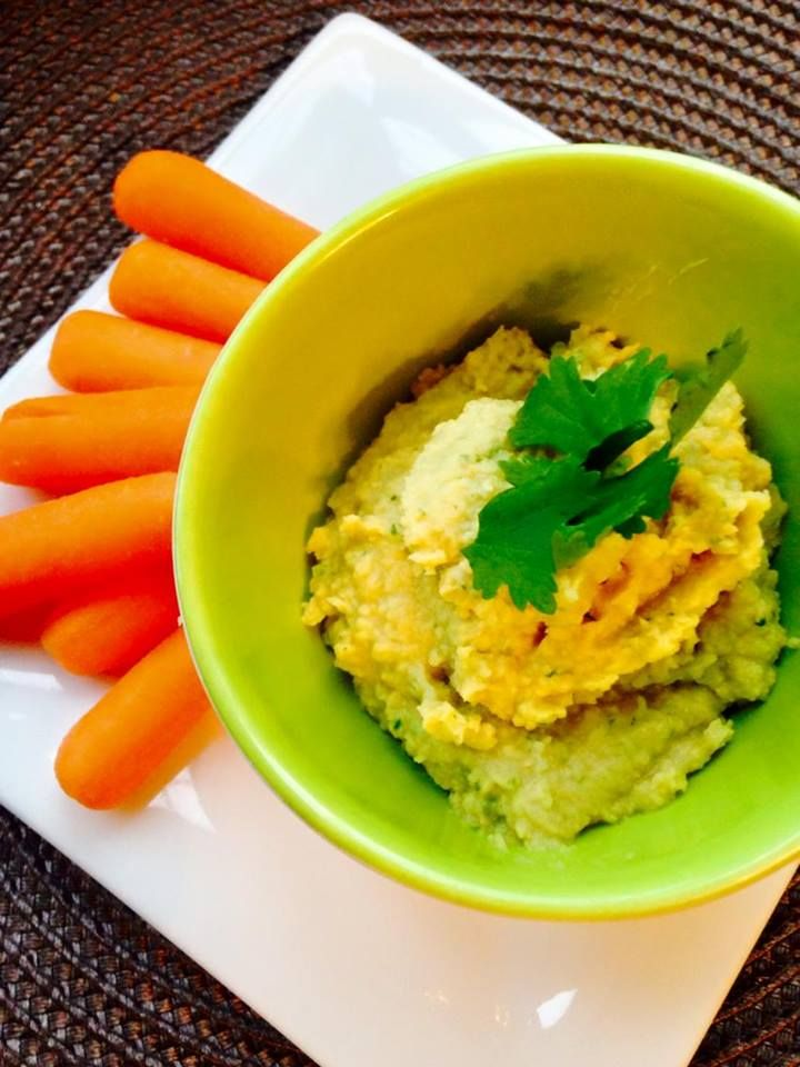 My fav snack - Jalapeno Lime Hummus - 21 Day Fix approved and SO yummy ...