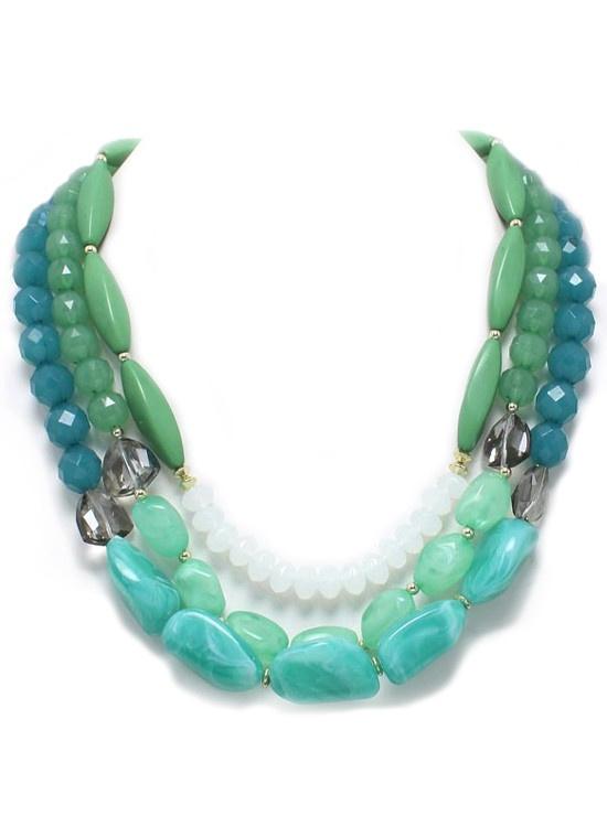 Mediterranean Layer Necklace