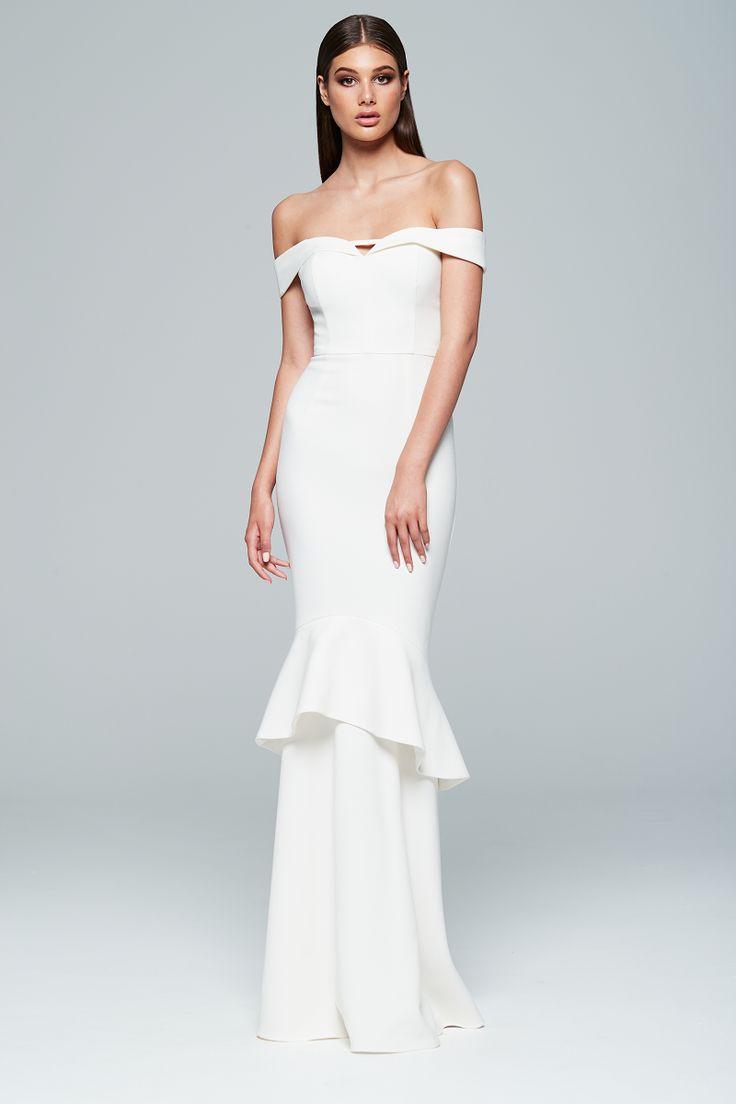 Love Honor - Rosetta Gown Ivory