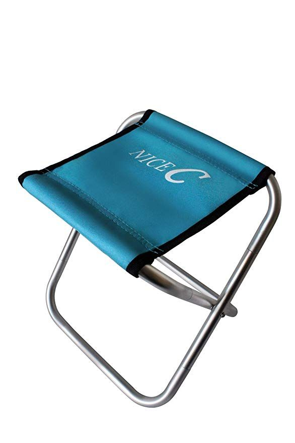 Amazon Com Nice C Kids Portable Folding Stool Does Support 200 Lbs Stool Only Weighs 10 9 Oz 10 H X 10 Folding Stool Ultralight Camping Camping Chair