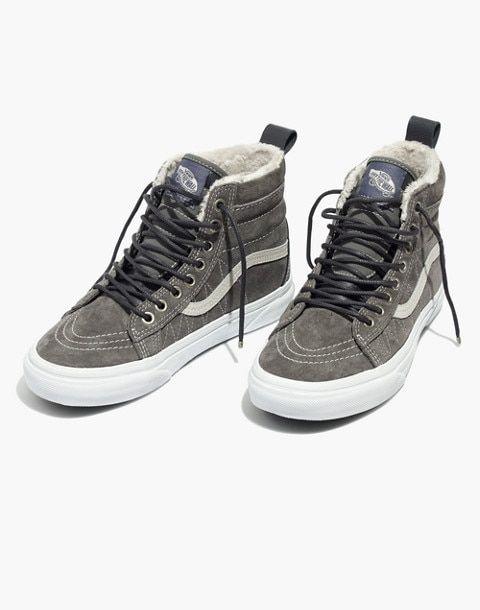 64401d19c8 Vans® Unisex Sk8-Hi MTE High-Top Sneakers in Suede in pewter asphalt image 1