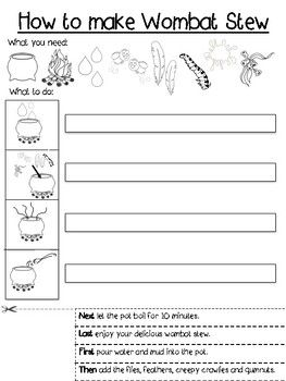 Procedure Writing Template : Differentiated :... by Krazy About Kinder | Teachers Pay Teachers