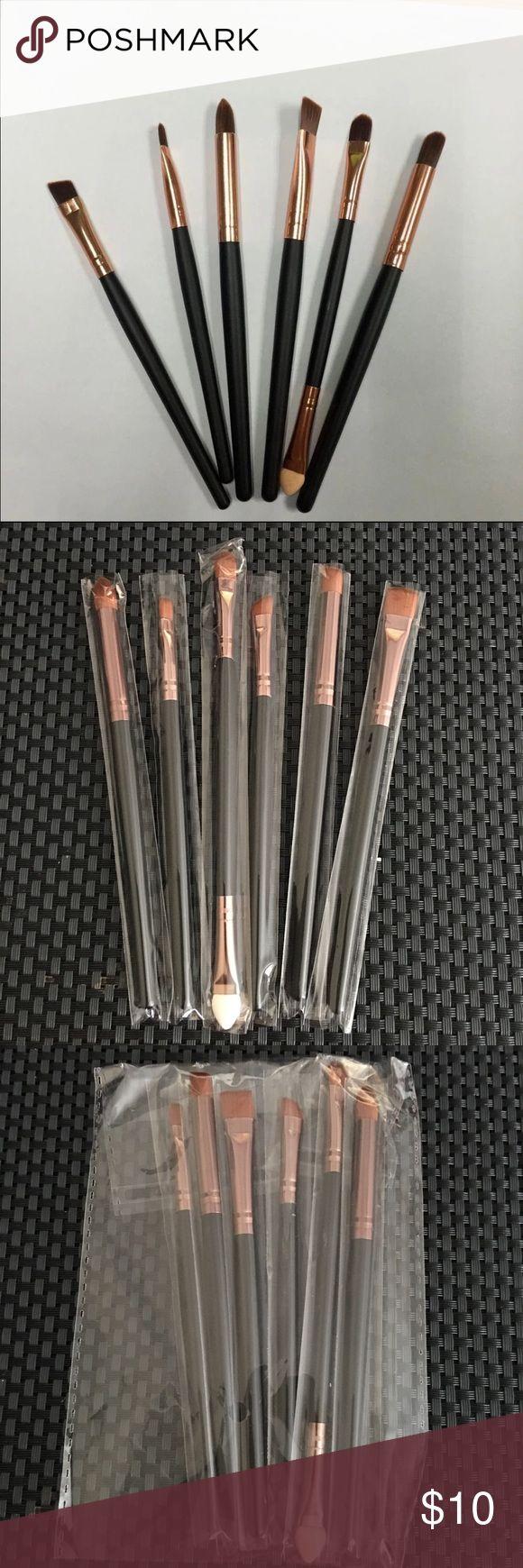 6 Pcs Makeup Brushes Set Brand new !! 6 Pcs makeup brushes cosmetic eye makeup brushes Makeup Brushes & Tools