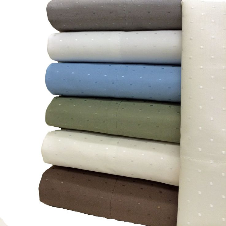 Woven Dots 600 Thread Count Queen Size Sheets $59.99 www.scotts-sales.com