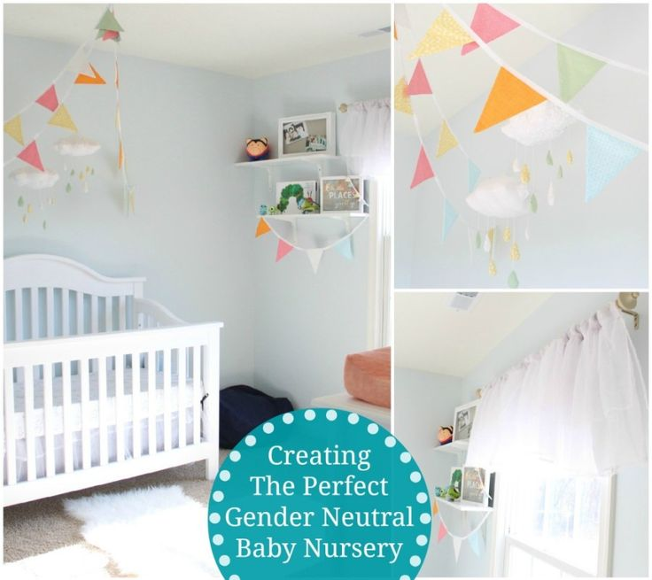 gender neutral baby nursery