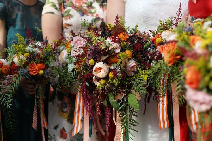 Fall Wedding Flowers Julie James Design
