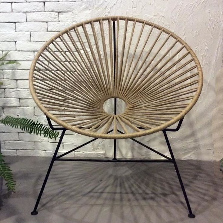 Curacao armchair handmade in Greece.Can be custom made upon request in any color and cord.Suitable for outdoor use .€382