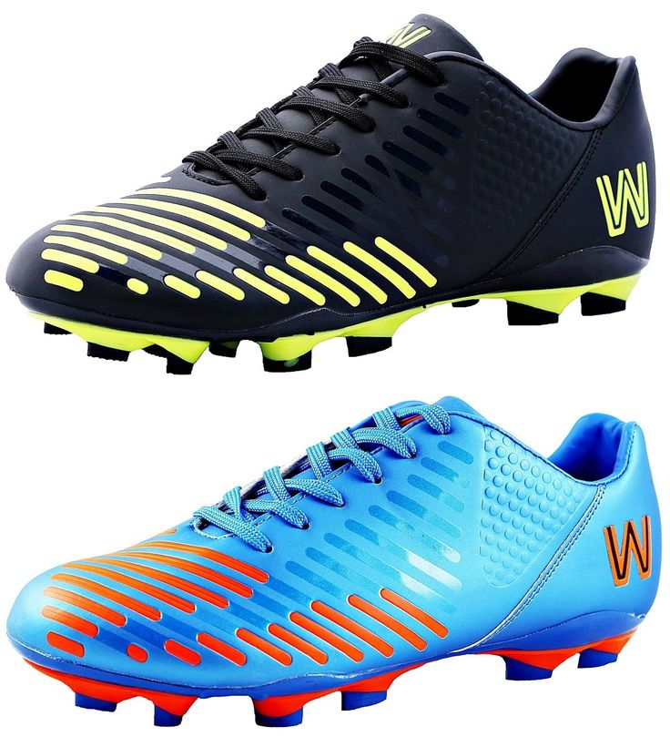 Walstar Mens Soccer Cleats Sports Soccer Shoes Sports Football Boots 5 colors