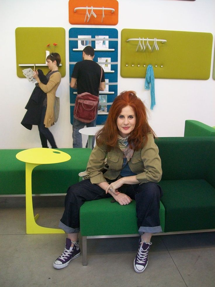 Rossana Diana, the RedHead at the Fuorisalone and Salone del Mobile 2013