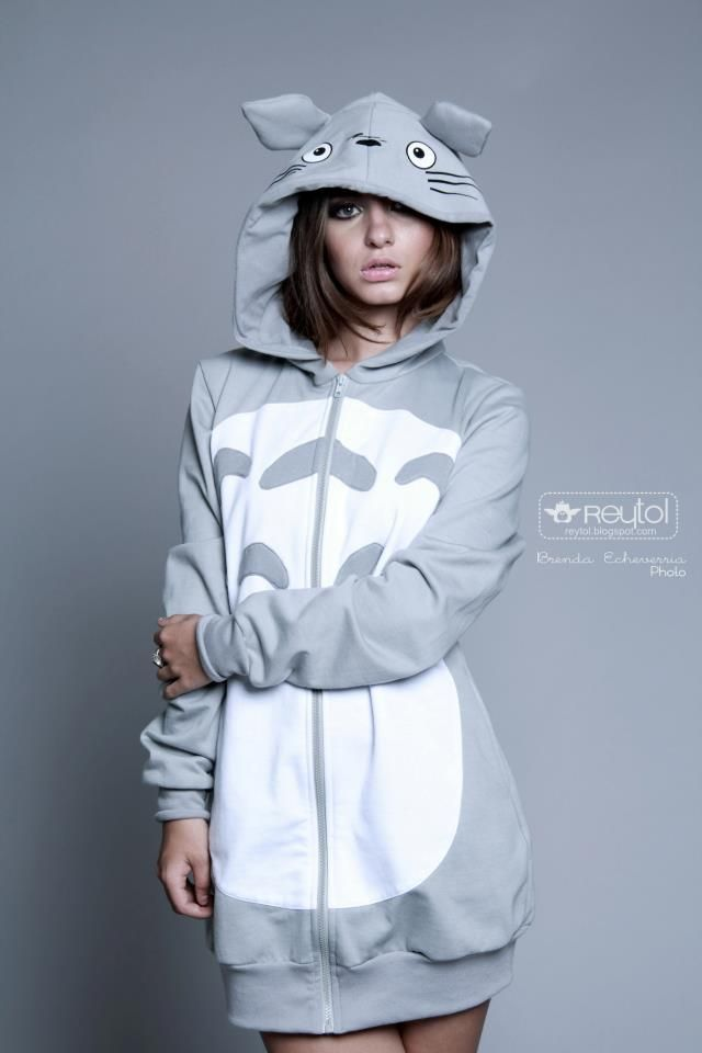 A lot of these Totoro hoodies aren't that great, but this one is awesome! Very cute.