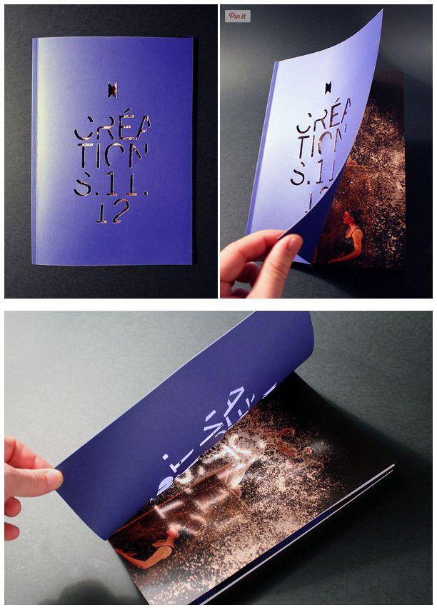 Les produits de l'épicerie - Brochure créative - Design inspiration - Découpe papier laser - #Print #LaserCut