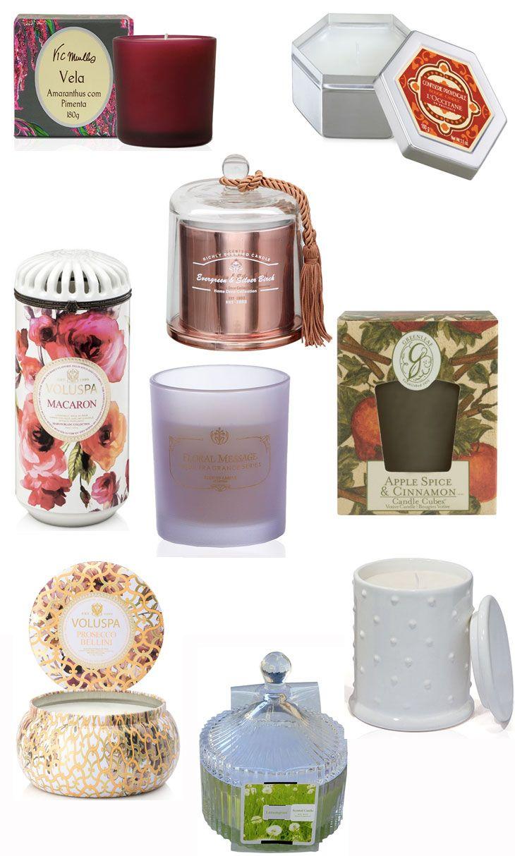 Curte decoração e gosta de velas perfumadas? Então veja nossa seleção com nove modelos que tem embalagens lindas e perfumes deliciosos!