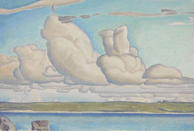 Lionel LeMoine FitzGerald - Prairie Sky