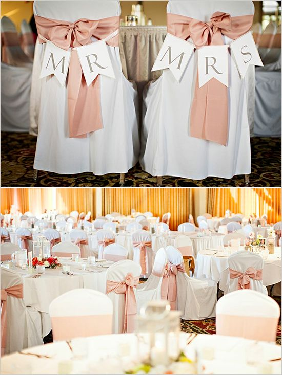 pink and white wedding reception ideas #weddingreception #weddingdecor #weddingchicks http://www.weddingchicks.com/2014/03/04/funky-seaside-wedding/