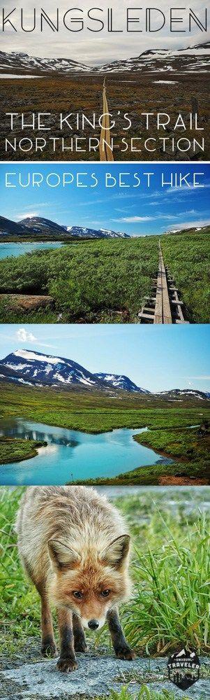 Hike the Kungsleden trail in Northern Sweden. #sweden #outdoor #hiking #nature #scandinavia #landscape #travel #travelblog #adventure