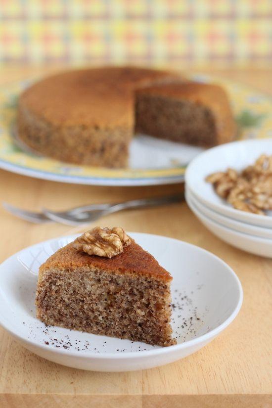 Delia Smith Coffee And Walnut Cake