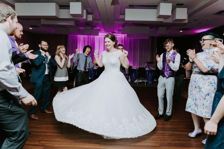 Wedding dance. Wedding fun.