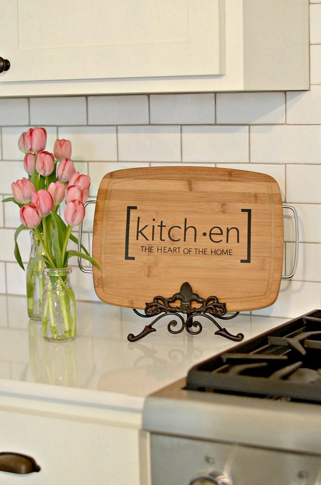Kitchen Cutting Board Sign  Inspiring Gift Ideas  Diy