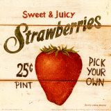Strawberry: Strawberries Patches, Carter Brown, Mrs. Carter, Kitchens Signs, Art Prints, Laminae Vintageantiguasretro, Strawberries Art, David Carter, Decoupage Kitchens