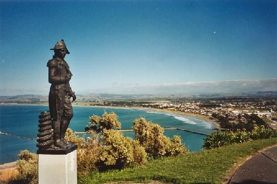 Gisborne, NZ - Despite the lack of memory I have definitely lived in some beautiful cities!