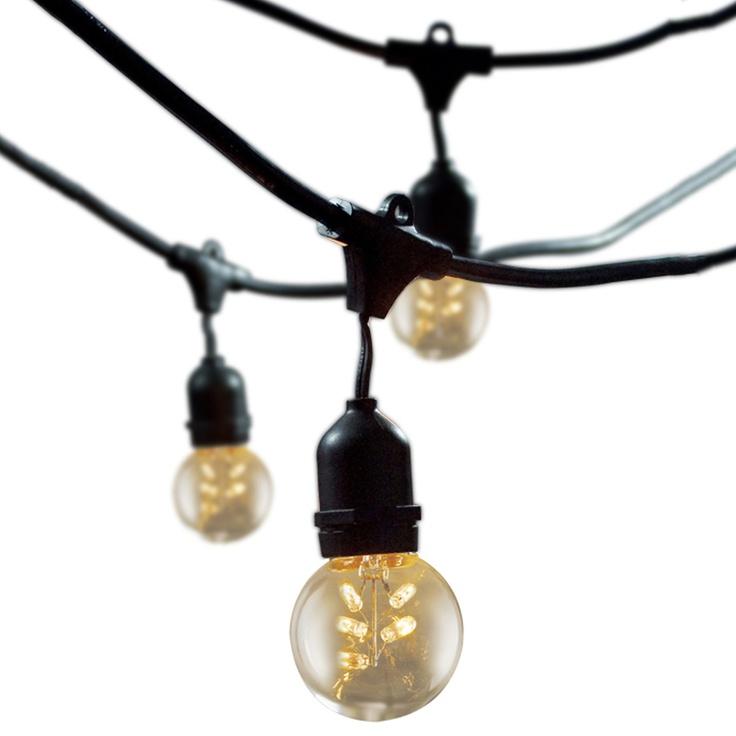 OD String Lights Star Bulbs