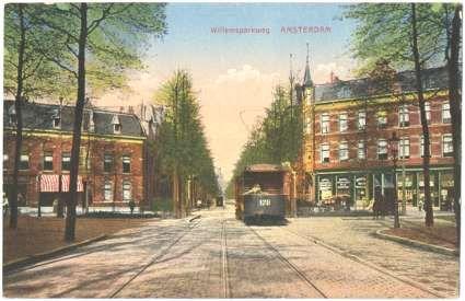 Oude krantenberichten Amsterdamse Trams