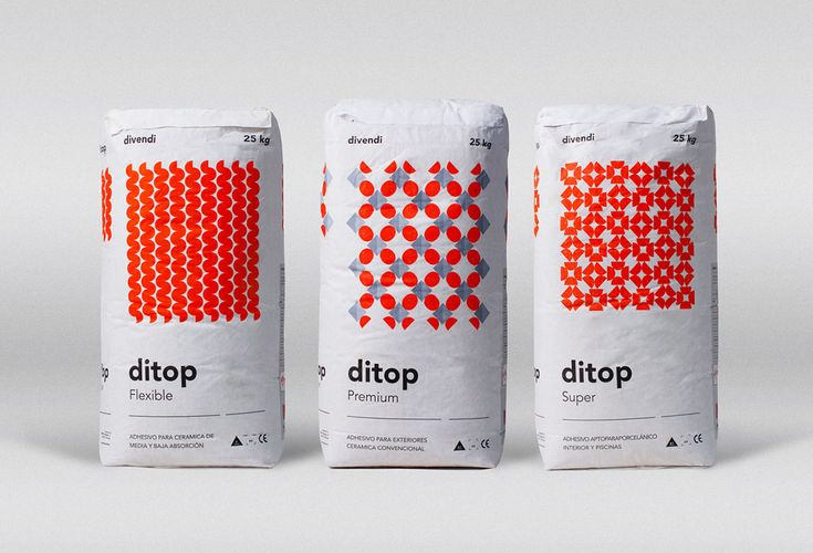Ditop sacks of cement on Behance