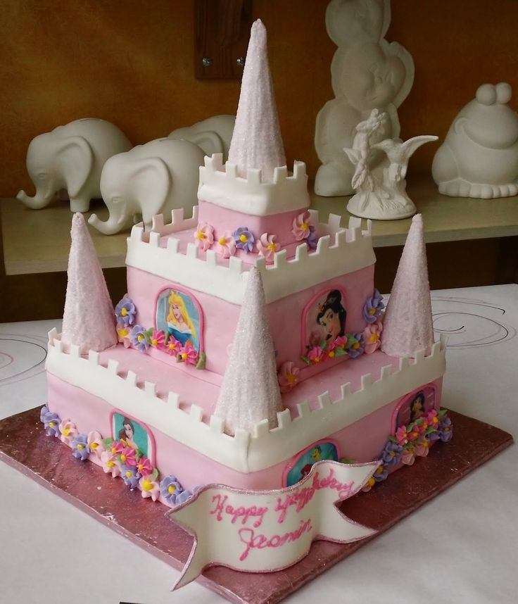 1000+ Ideas About Easy Castle Cake On Pinterest