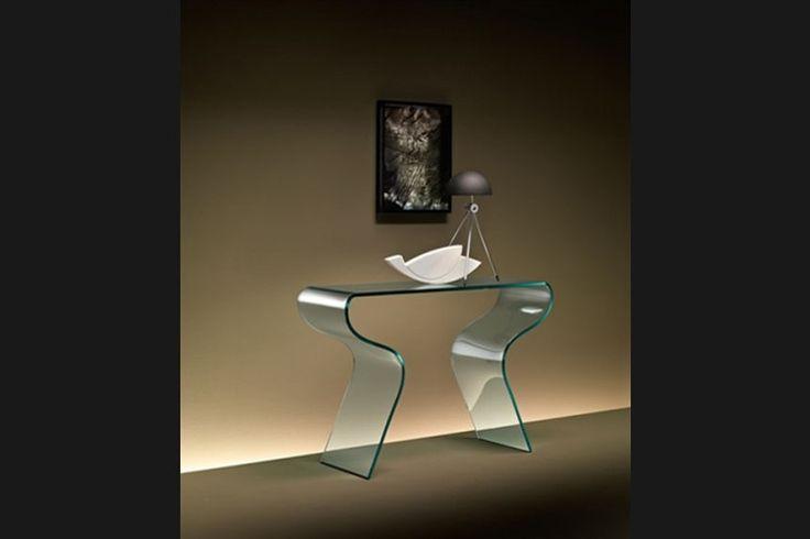 Design side-table Charlotte | FIAM | Italian design | GlazenDesignTafel.nl | Design by Prospero Rasulo | Interior design | vidre glastoepassingen, Leiden