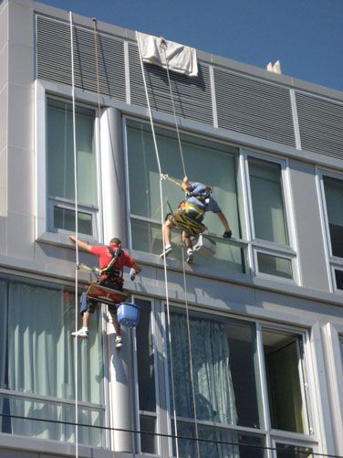 NYC window cleaning service. Residential and commercial for all New York City areas including Window Washers Queens NY, Window Cleaning Manhattan NYC, Window Cleaners Brooklyn http://www.supremewindowwashing.com/