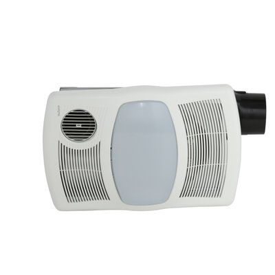 bathroom light fan heater. nutone, 100 cfm ceiling directionally adjustable exhaust bath fan with light and heater, at the home depot - mobile bathroom heater