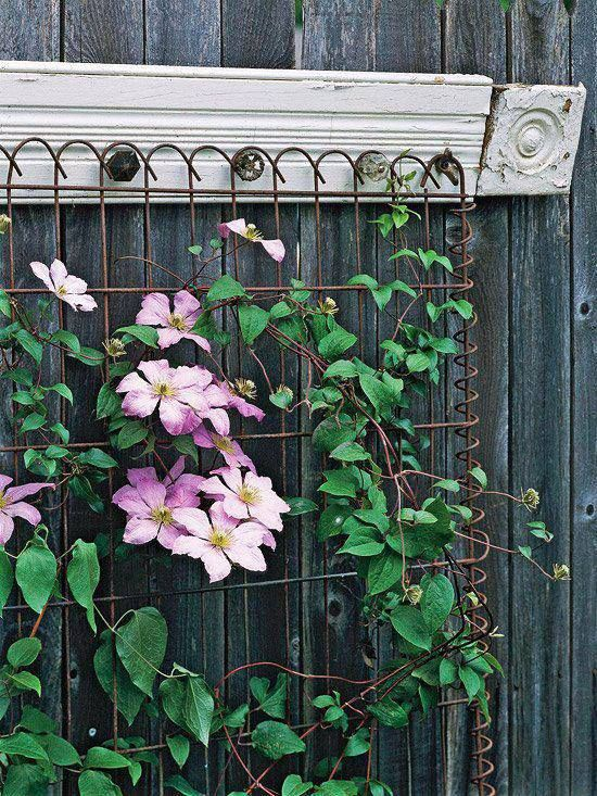 architectural salvage trellis